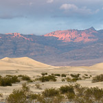 Sand dunes just beyond Stovepipe Wells, Death Valley
