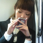 Texting Schoolgirl Kawaii-chan